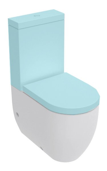 FLO WC kombi mísa 36x43x60cm, spodní/zadní odpad 311701