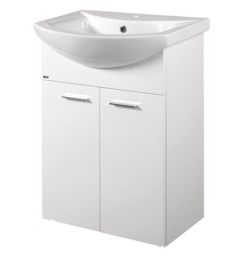 ZOJA umyvadlová skříňka 50,5x74x30cm, bílá 51055