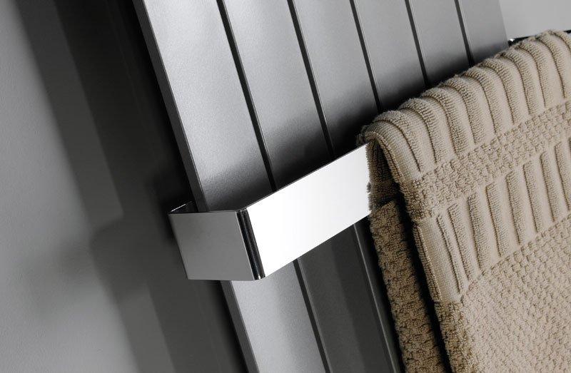 COLONNA držák ručníků 450x74mm, broušená nerez IRPA16