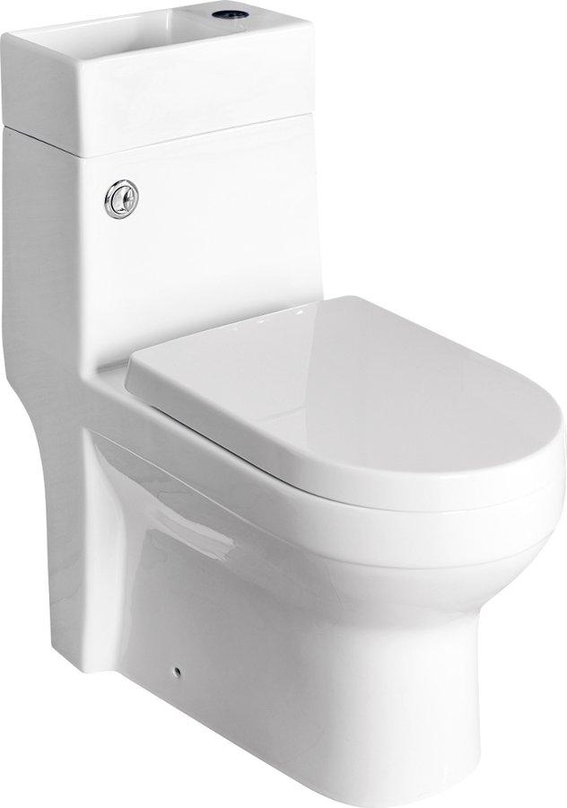 GAVI WC kombi mísa s nádržkou včetně PP sedátka, zadní odpad PB102
