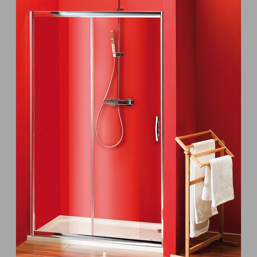 SIGMA sprchové dveře posuvné 1200mm, čiré sklo SG1242