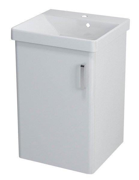 THEIA umyvadlová skříňka 46,4x70x44,2cm, 1xdvířka, bílá TH051