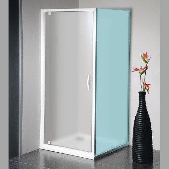 ETERNO sprchové dveře 800mm, sklo BRICK GE7680