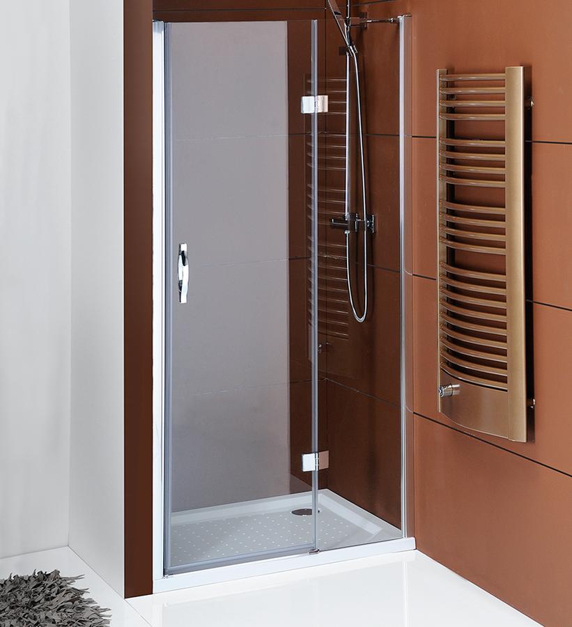 LEGRO sprchové dveře do niky 800mm, čiré sklo GL1280