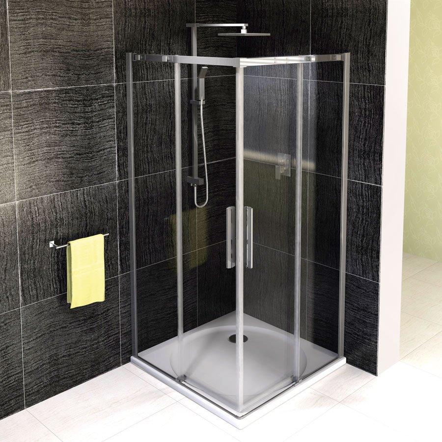 ALTIS LINE čtvercová sprchová zástěna 1000x1000mm, čiré sklo AL1715