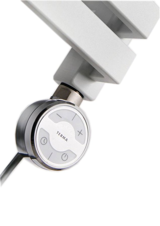 MOA topná tyč s termostatem, 200W, Chrom MOA-C-200