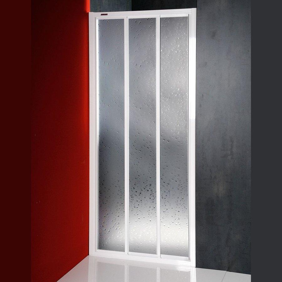 DTR sprchové dveře posuvné 1000mm, bílý profil, polystyren výplň DTR-C-100