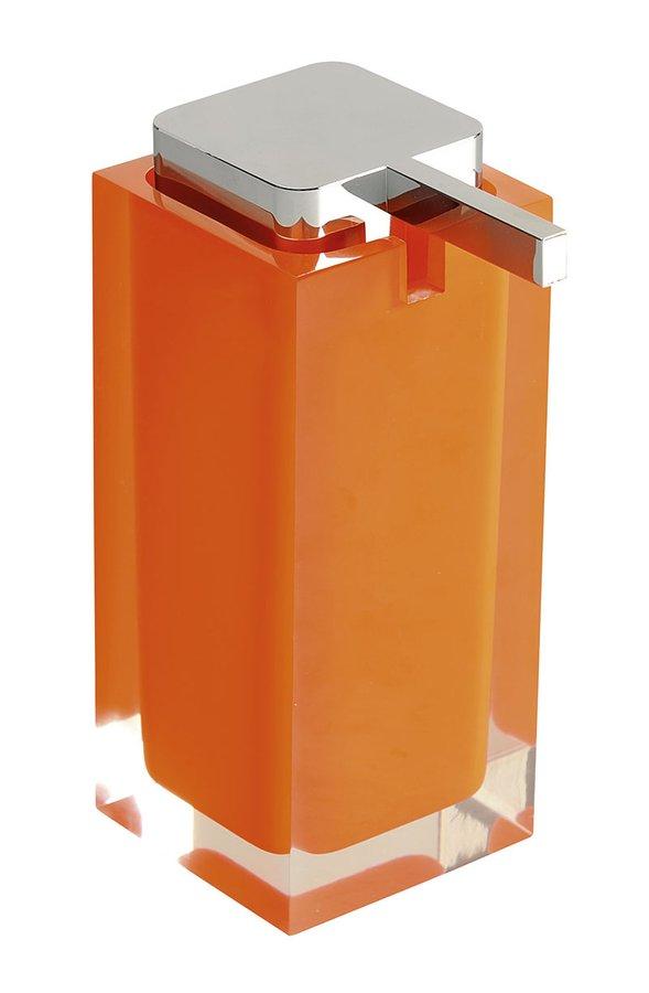 RAINBOW dávkovač mýdla na postavení, oranžová RA8067